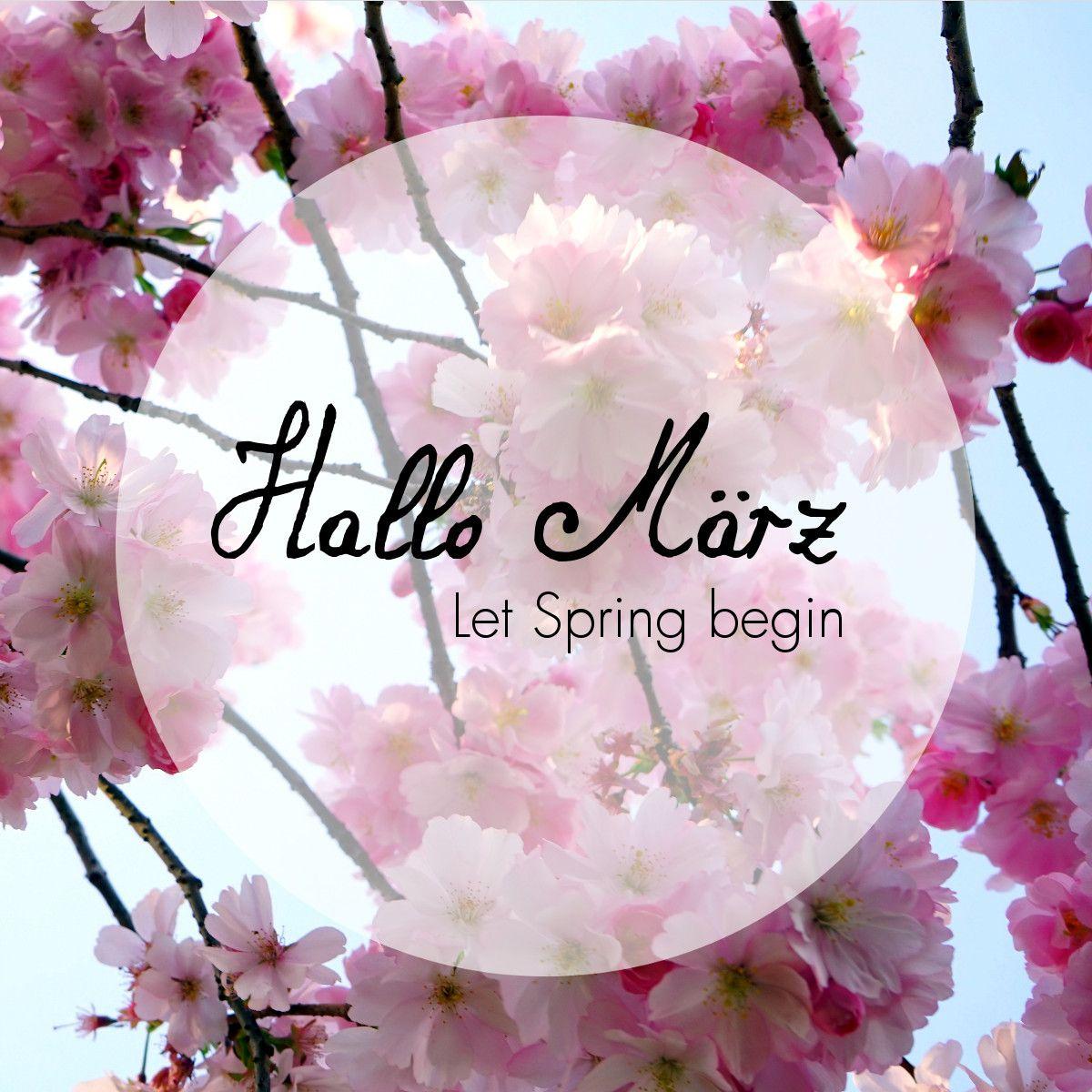 Hallo #märz - Let #spring Begin! #justaway #travel #quotes über Lustige Frühlingsbilder Kostenlos
