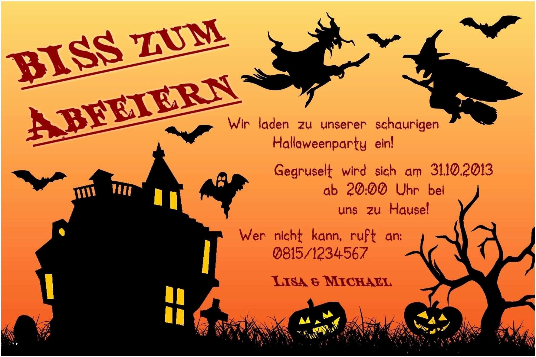Halloween Einladungen Vorlagen Neu Einladungen Halloween bei Halloween Einladung Vorlagen