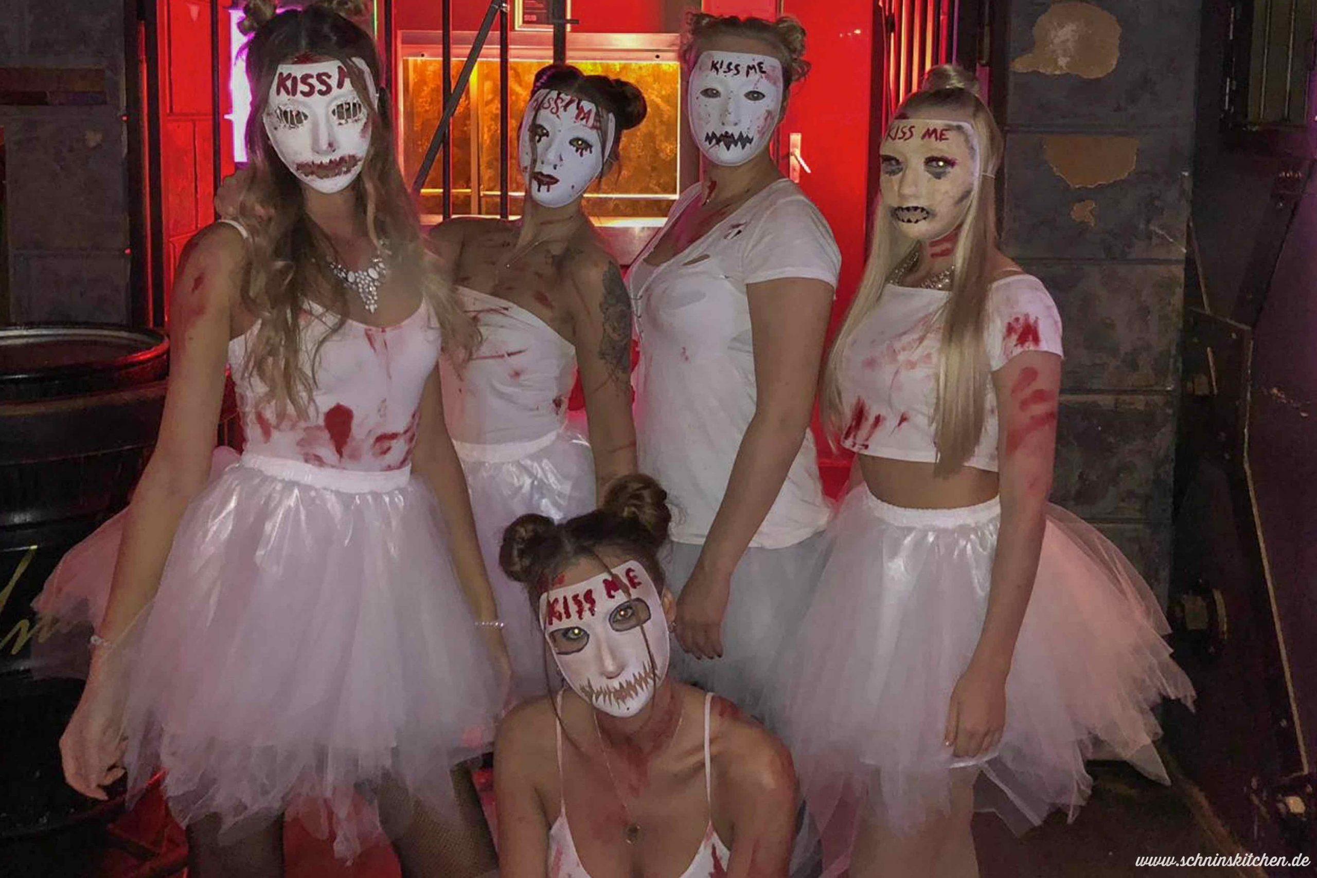 """Halloween-Kostüm Candy Girl Aus """"the Purge"""" - Schnin's Kitchen für Halloween Kostüm Selber Machen Günstig"""