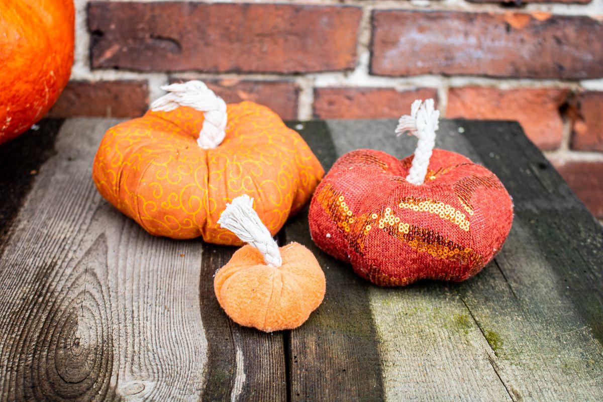 Halloween Kürbis Nähen - Nähanleitung Für Kürbisse Für für Kürbis Bilder Kostenlos