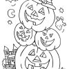 Halloween Malvorlagen Für Kinder, 100 Bilder. Drucken Sie in Ausmalbilder Halloween