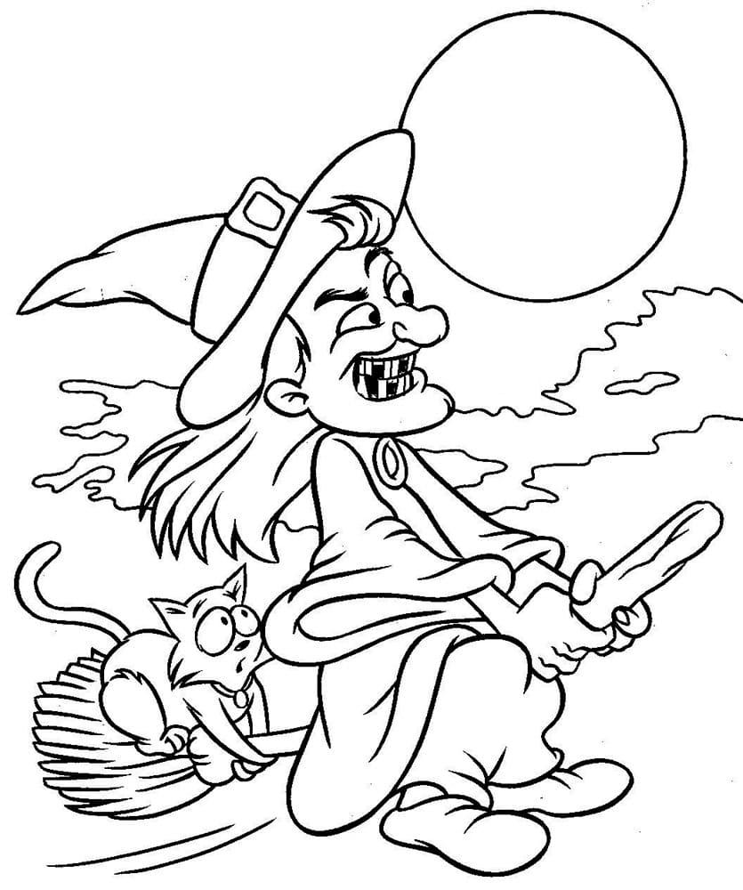 Halloween Malvorlagen Für Kinder, 100 Bilder. Drucken Sie in Halloween Malvorlagen Ausdrucken