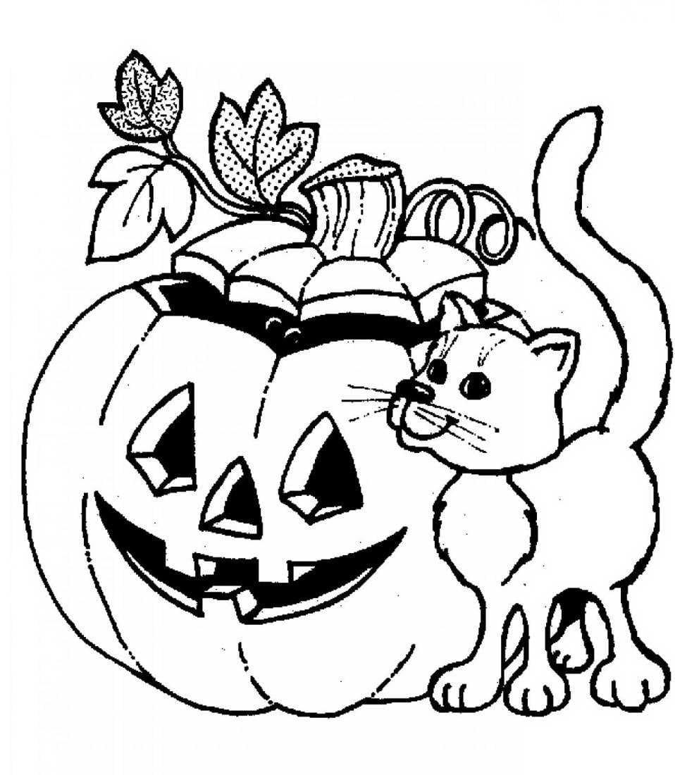 Halloween Malvorlagen Für Kinder, 100 Bilder. Drucken Sie verwandt mit Malvorlagen Halloween