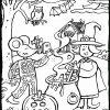Halloween Mit Emma Und Leon - Kiddimalseite innen Ausmalbilder Halloween