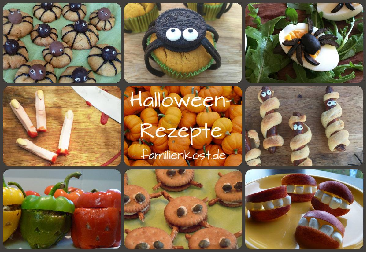 Halloween-Rezepte Für Die Kinderparty mit Halloween Party Für Kindergeburtstag