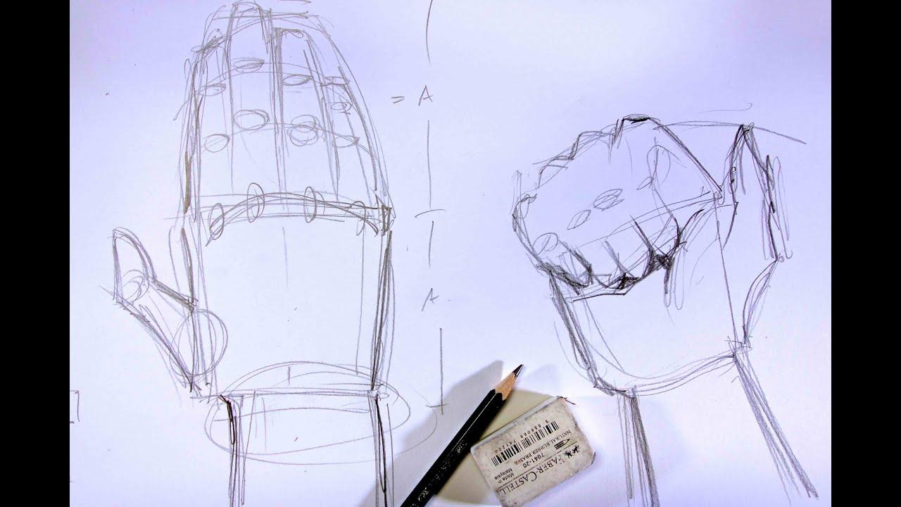 Hände Skizzieren Für Anfänger | Ganz Einfach Zeichnen Lernen 13 bestimmt für Hände Zeichnen Lernen
