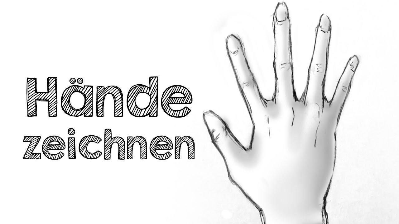 Hände Zeichnen - Der Einfachste Weg! für Hände Zeichnen Lernen