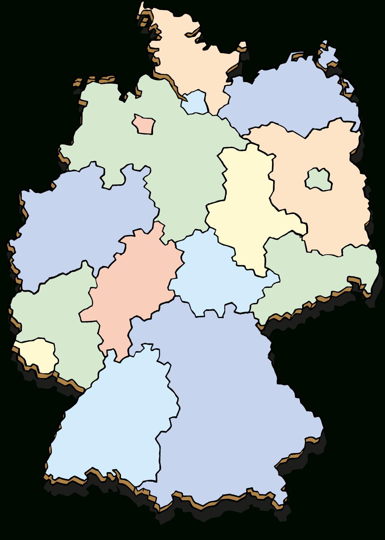 Hanisauland - Interaktive Tafelbilder ganzes Bundesländer Deutschland Mit Hauptstädten Karte