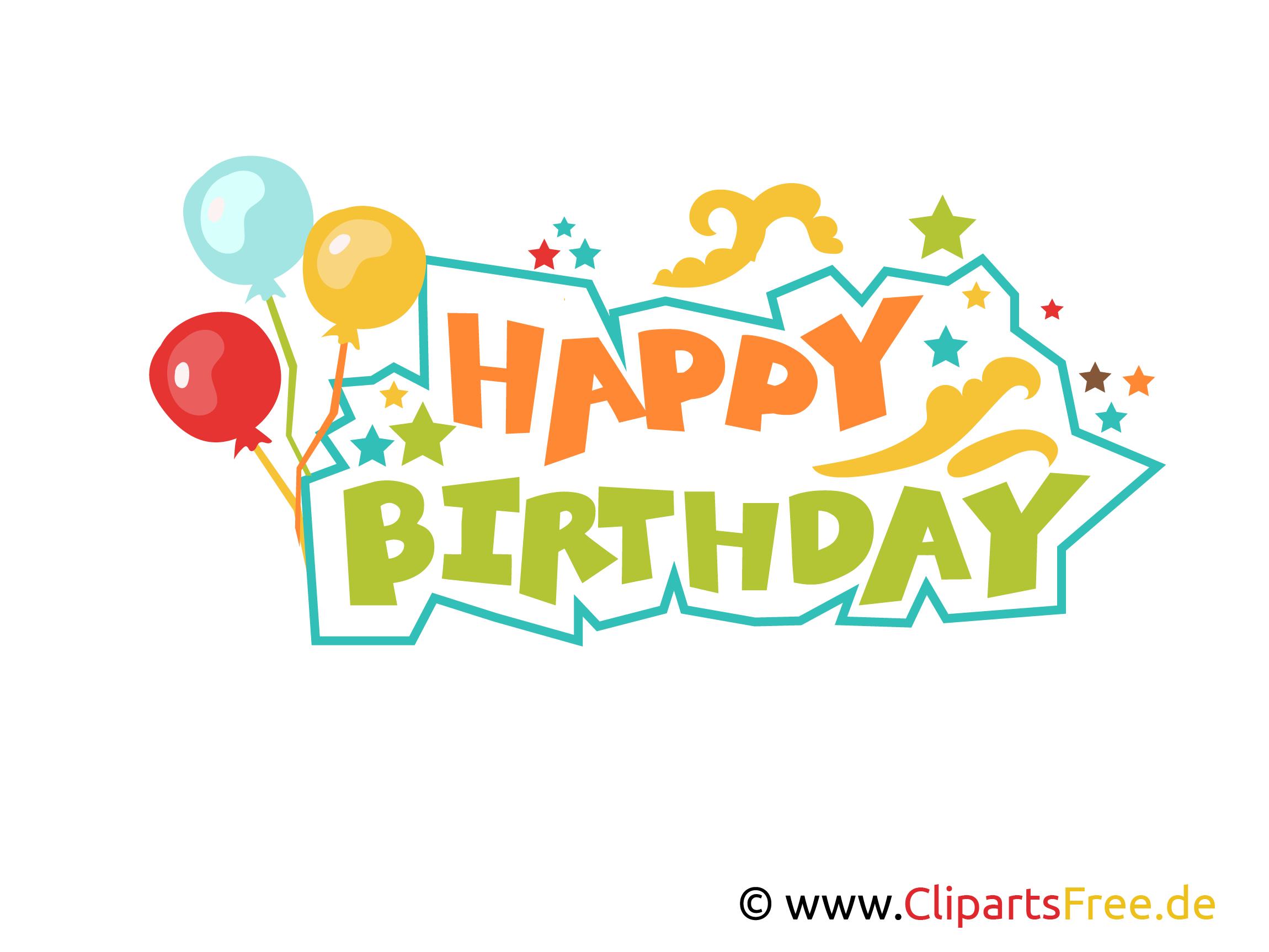 Happy Birthday Buchstaben Zum Drucken Clipart, Vorlage verwandt mit Vorlage Happy Birthday