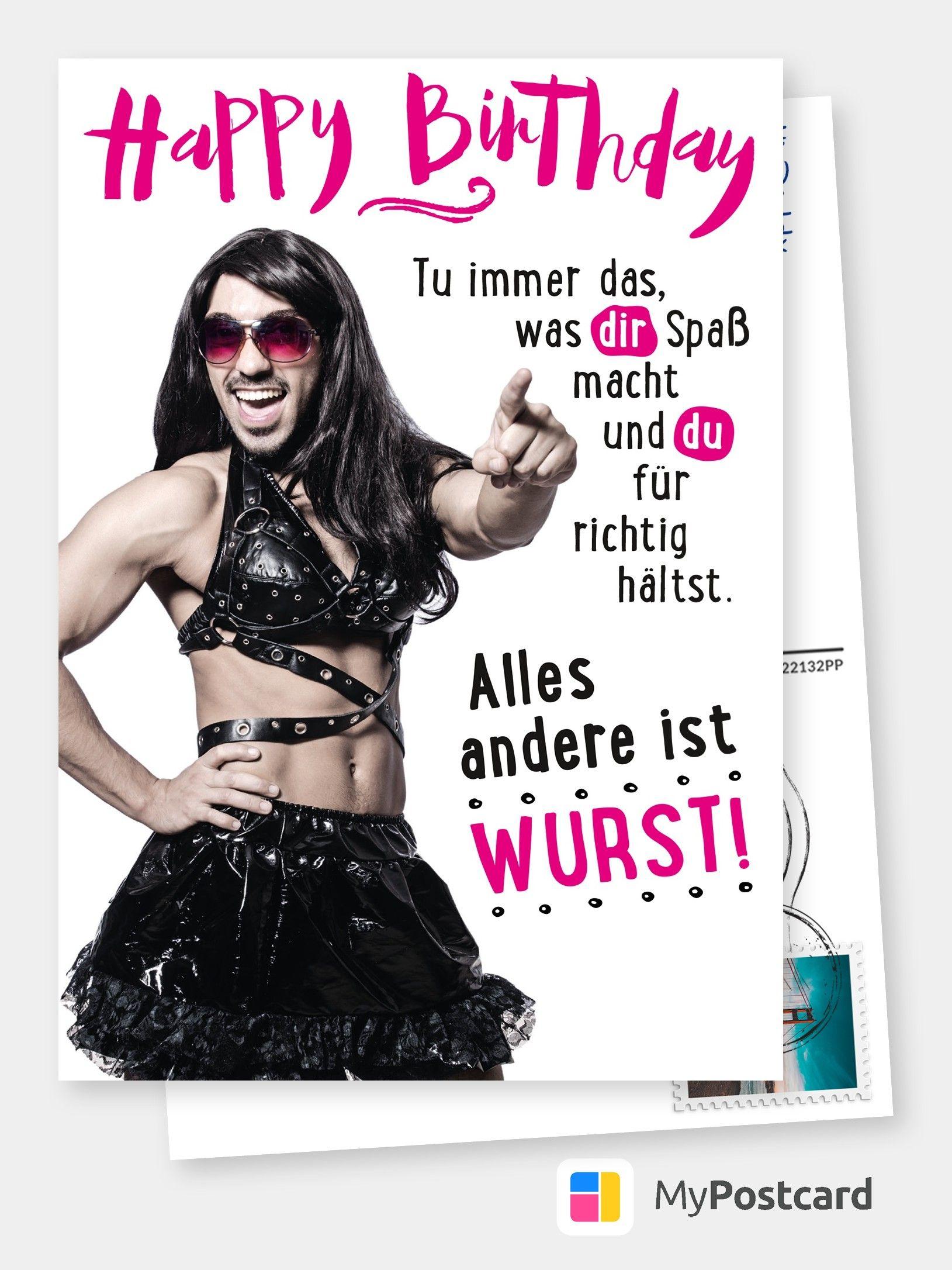 Happy Birthday – Tu Was Dir Spaß Macht   Geburtstagskarten bestimmt für Geburtstag Bilder Lustig Für Frauen