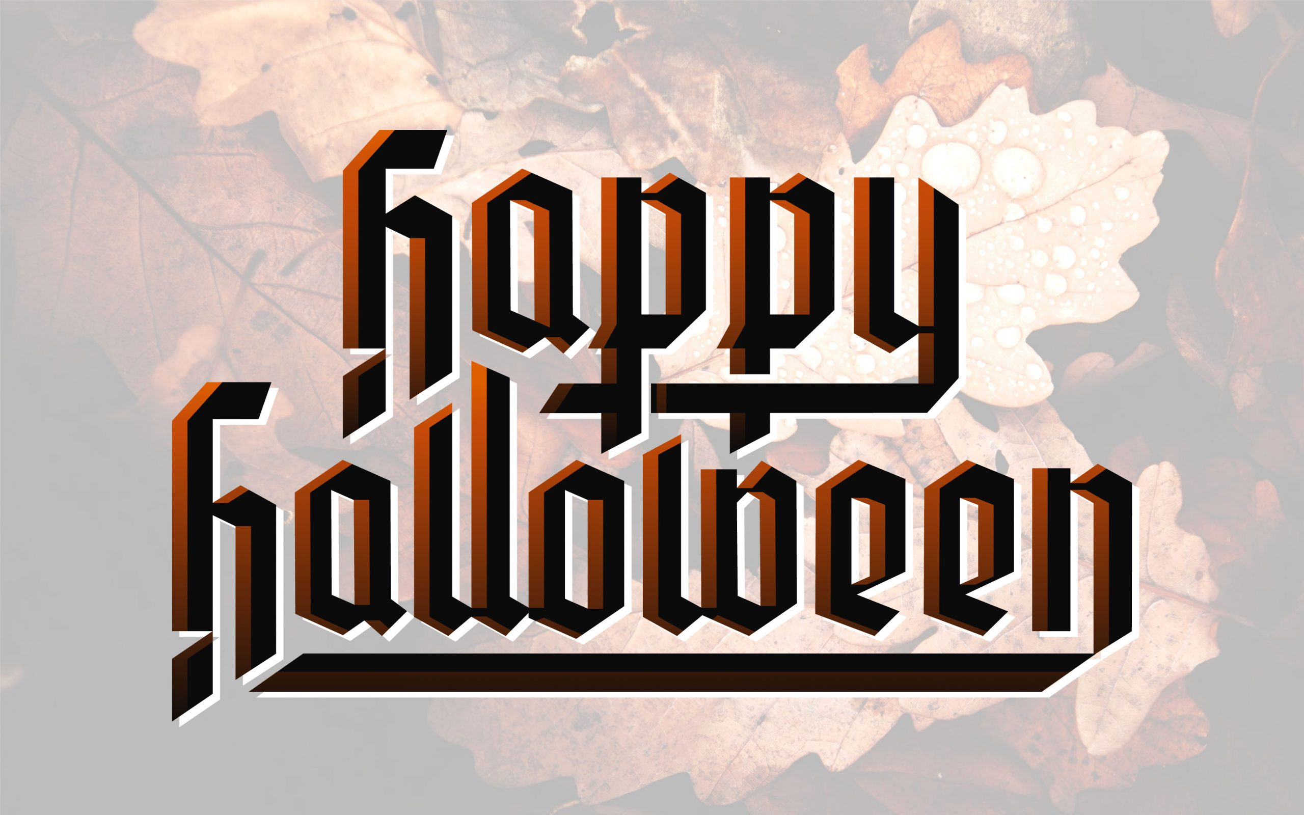 Happy Halloween-Schriftzug - Vektor Download ganzes Happy Halloween Schriftzug