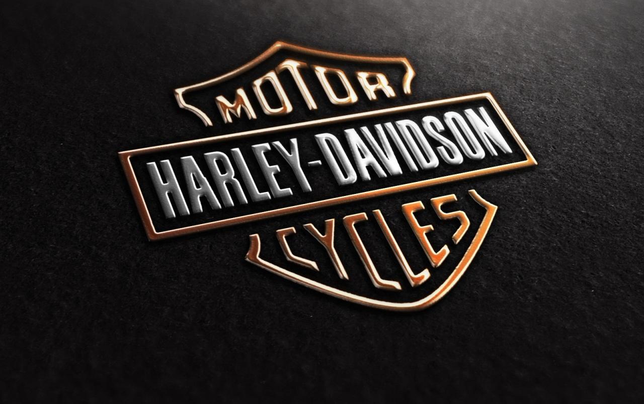 Harley-Davidson-Logo Hintergrundbilder | Harley-Davidson bei Harley Davidson Hintergrundbilder