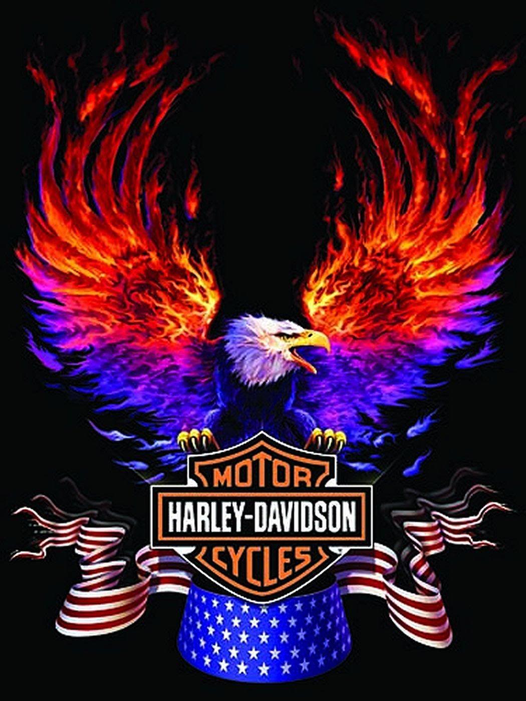 Harley Davidson Logo Wallpapers (Mit Bildern) | Harley mit Harley Davidson Hintergrundbilder
