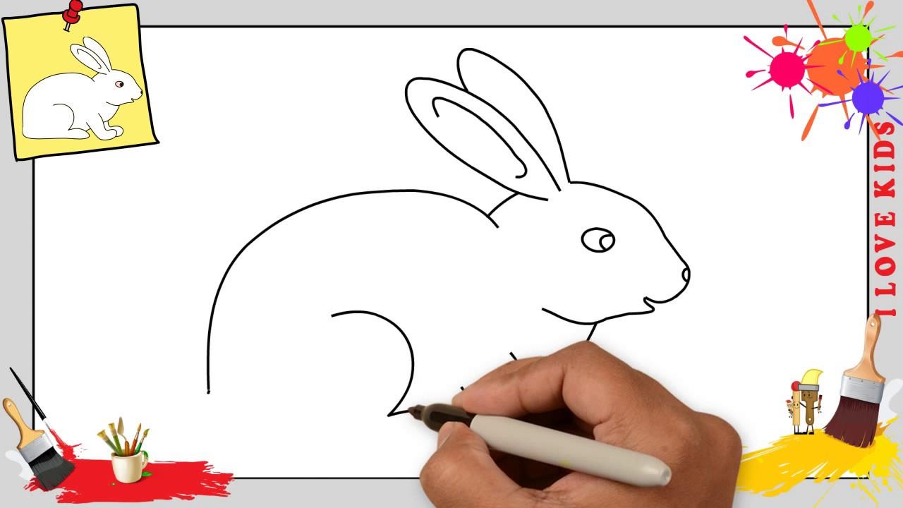 Hase Zeichnen Schritt Für Schritt Für Anfänger & Kinder - Zeichnen Lernen  Tutorial ganzes Kinder Zeichnen Lernen