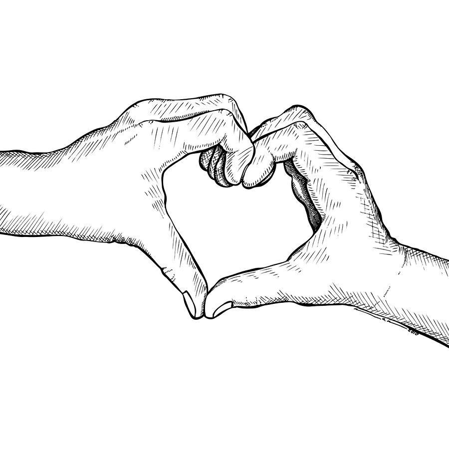 Heart Hands (Mit Bildern) | Zeichnungen Von Herzen, Herz verwandt mit Liebesbilder Zum Zeichnen