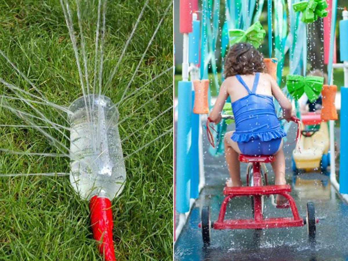 Heiße Tage Let S Plansch 10 Coole Wasserspiel Ideen Für über Bastelideen Kindergeburtstag 10 Jährige
