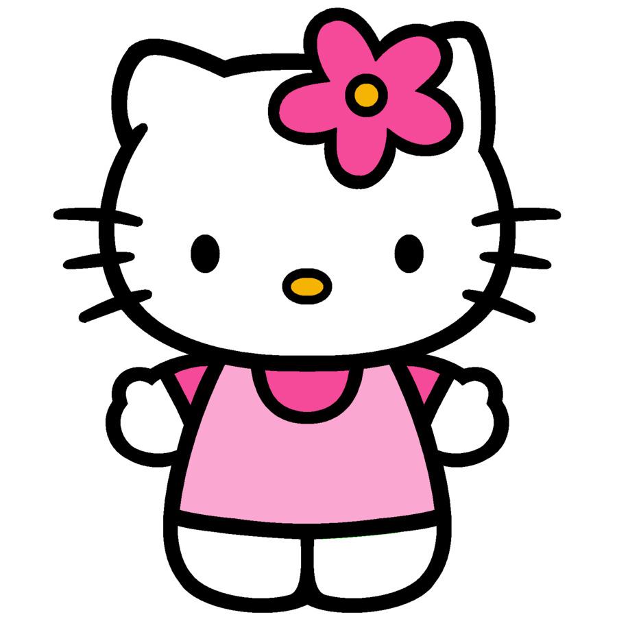 Hello Kitty Clip-Art - Hello Kitty Wand Schablonen Png verwandt mit Hello Kitty Zeichnung