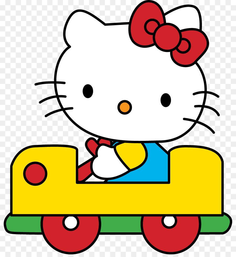 Hello Kitty Online-Clipart-Bild Zeichnen - Hello Kitty in Hello Kitty Zeichnen
