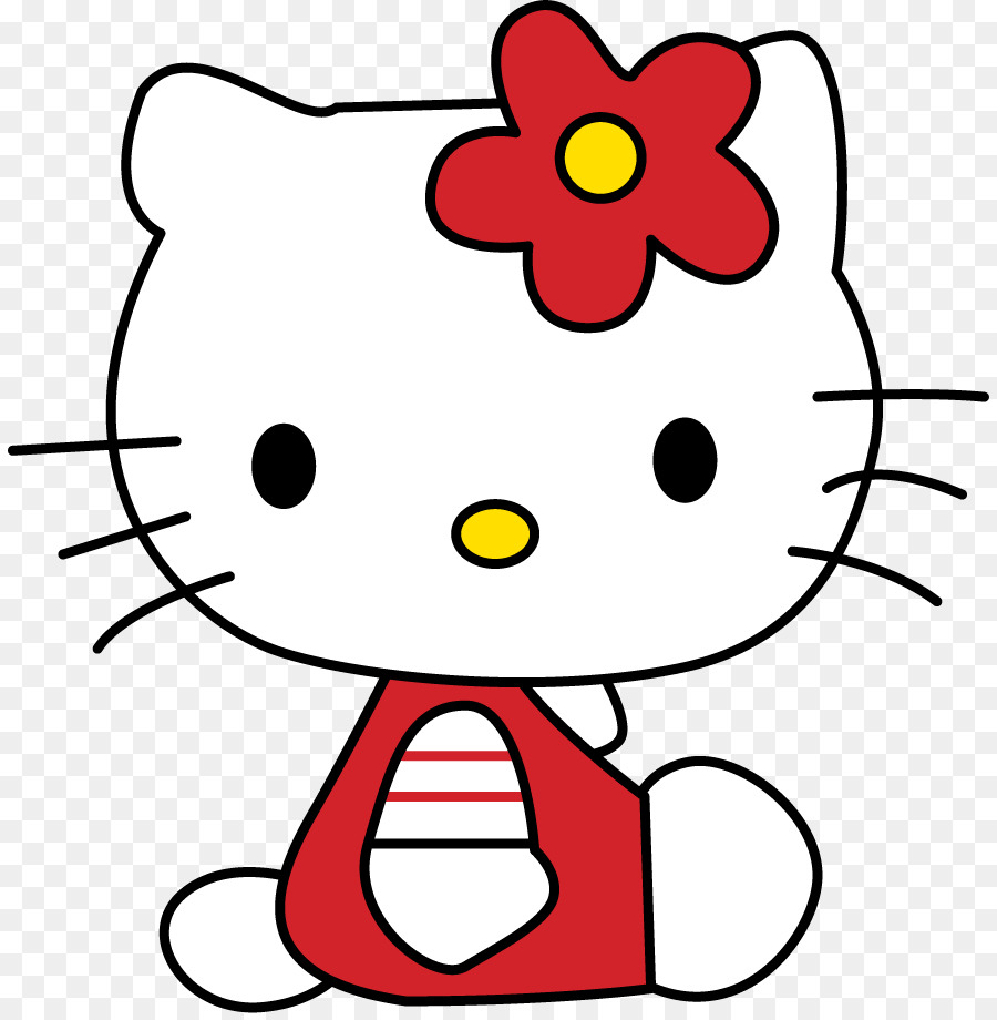 Hello Kitty Zeichnung Kunst - Kitty Png Herunterladen - 886 für Hello Kitty Zeichnung