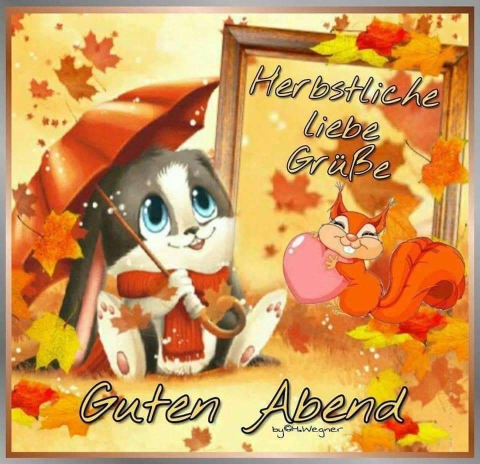 Herbst Ist Da. 😊 🐲🎃😍🐝🐞😗😘💗😱🐄🍧   Guten Abend für Herbstbilder Lustig
