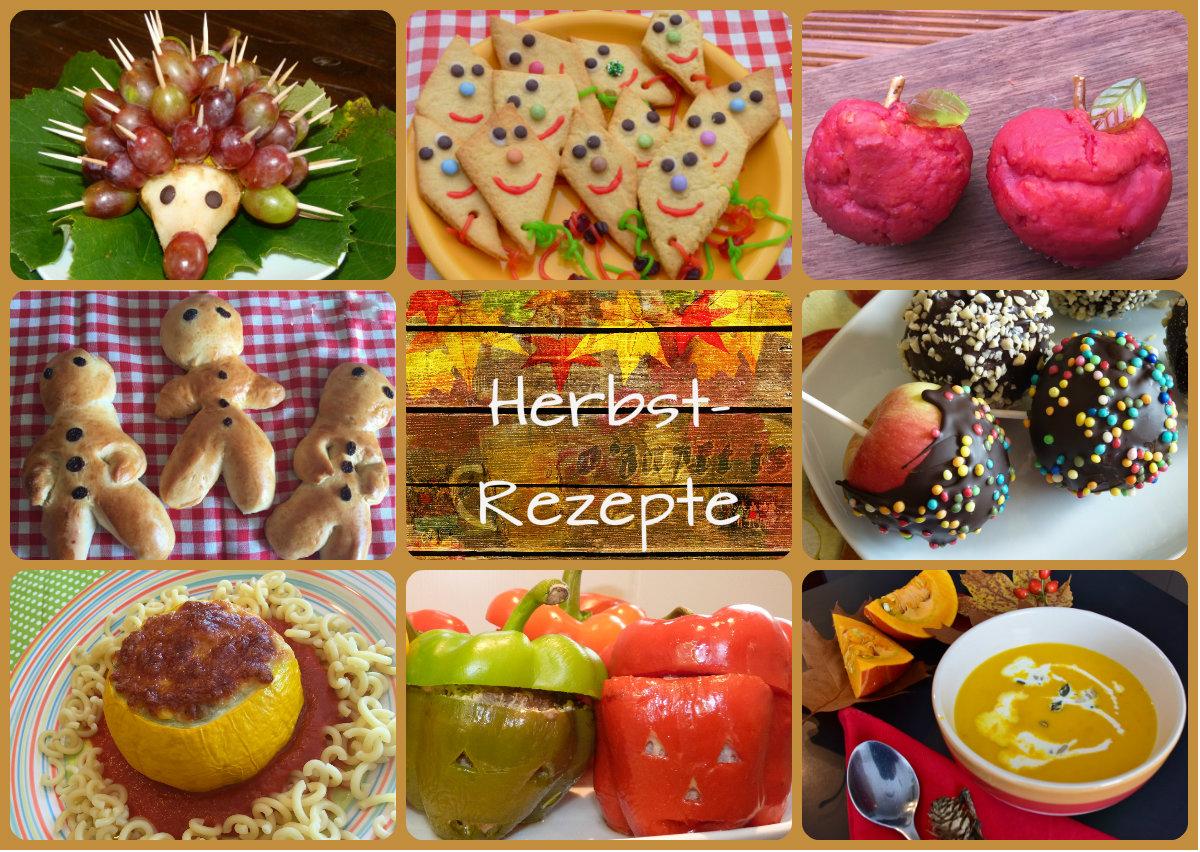 Herbst-Rezepte bestimmt für Kochen Mit Kindern Im Kindergarten Rezepte