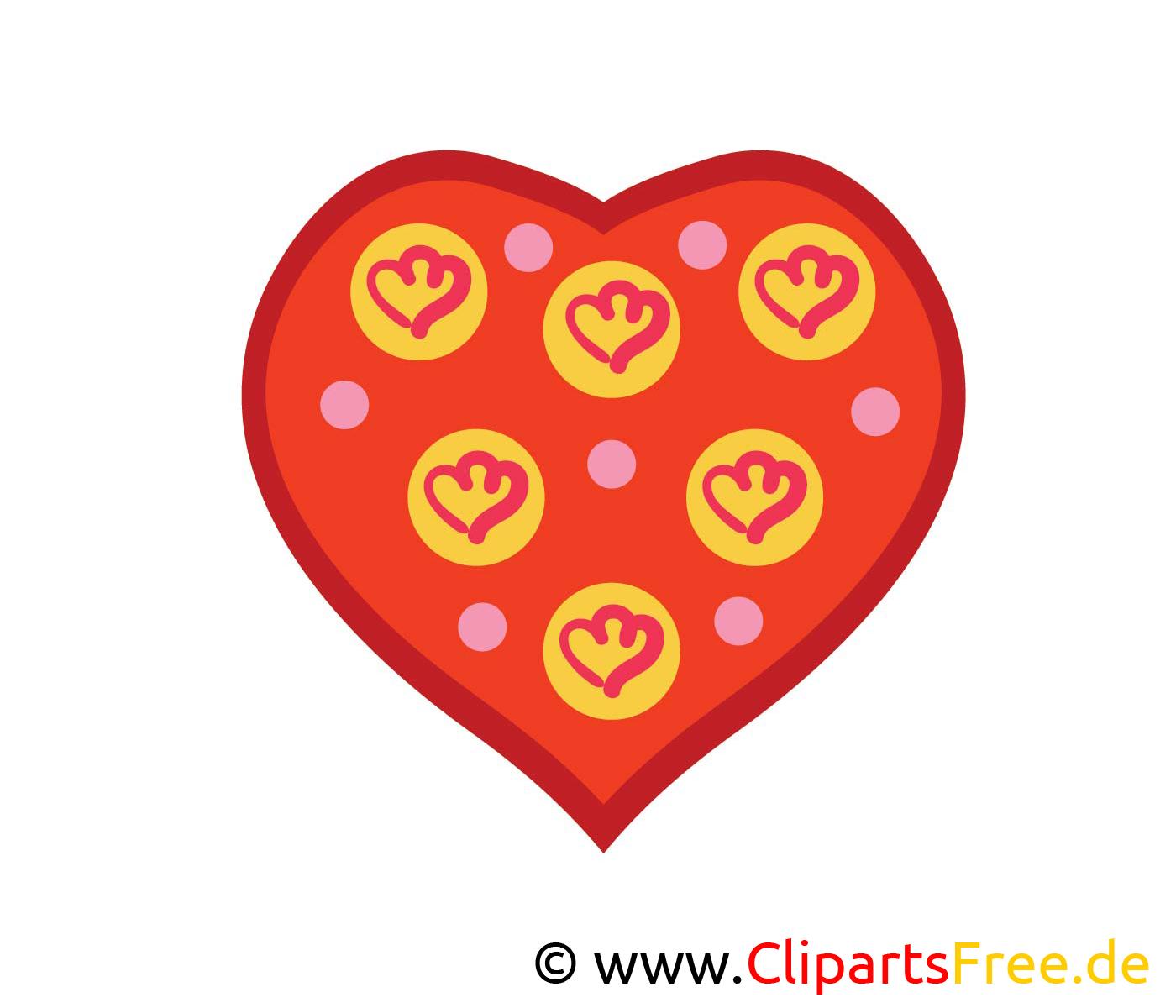 Herz Bild, Clip Art, Image, Grafik, Illustration Gratis in Clipart Herz Kostenlos