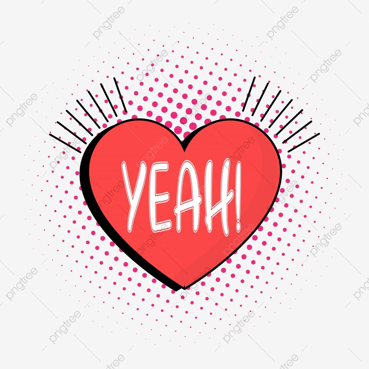 Herz Sprechblase Clipart Png Vektorelement, Herz Blase, Herz verwandt mit Clipart Herz Kostenlos