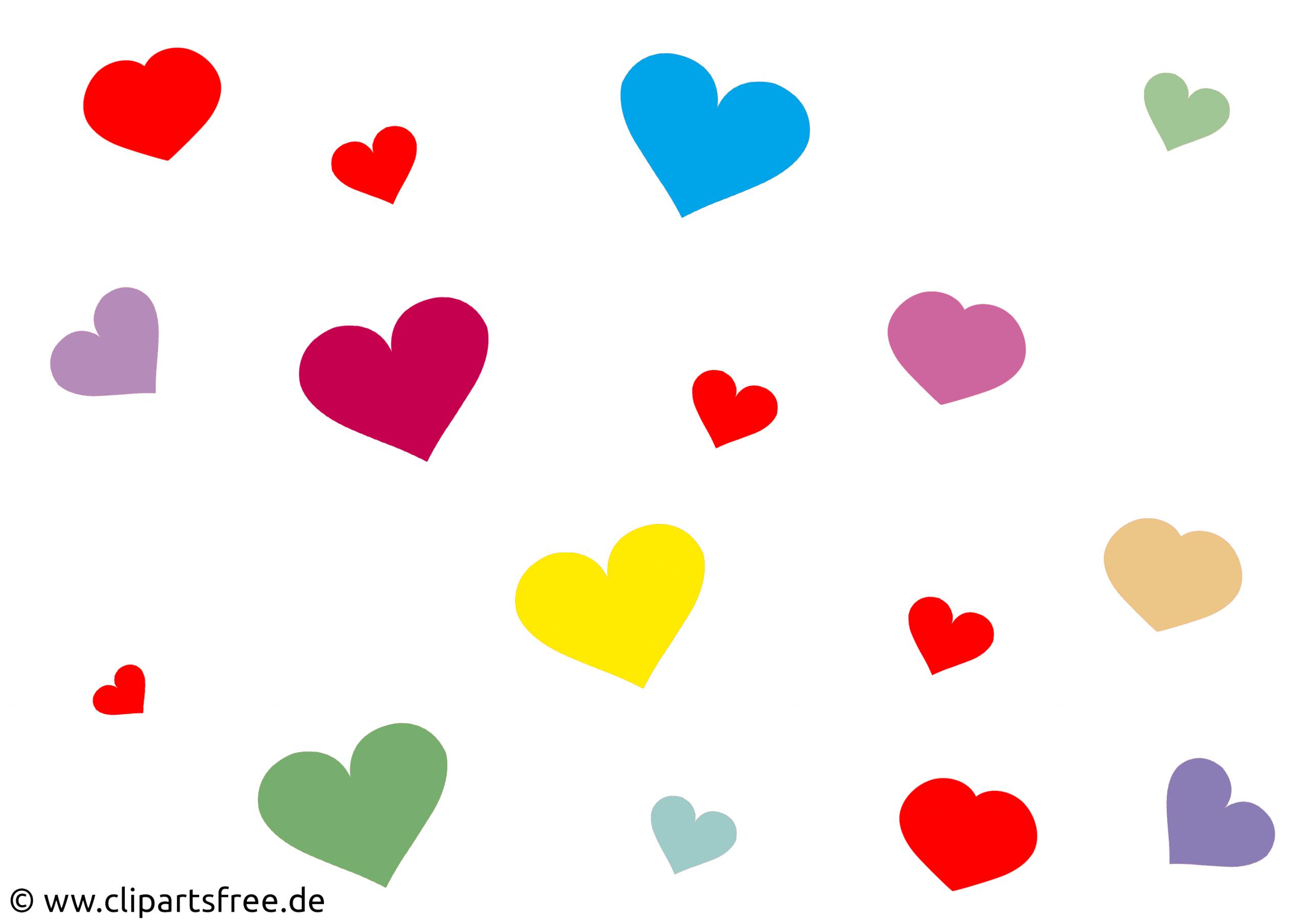 Herzen Bilder ganzes Clipart Herz Kostenlos