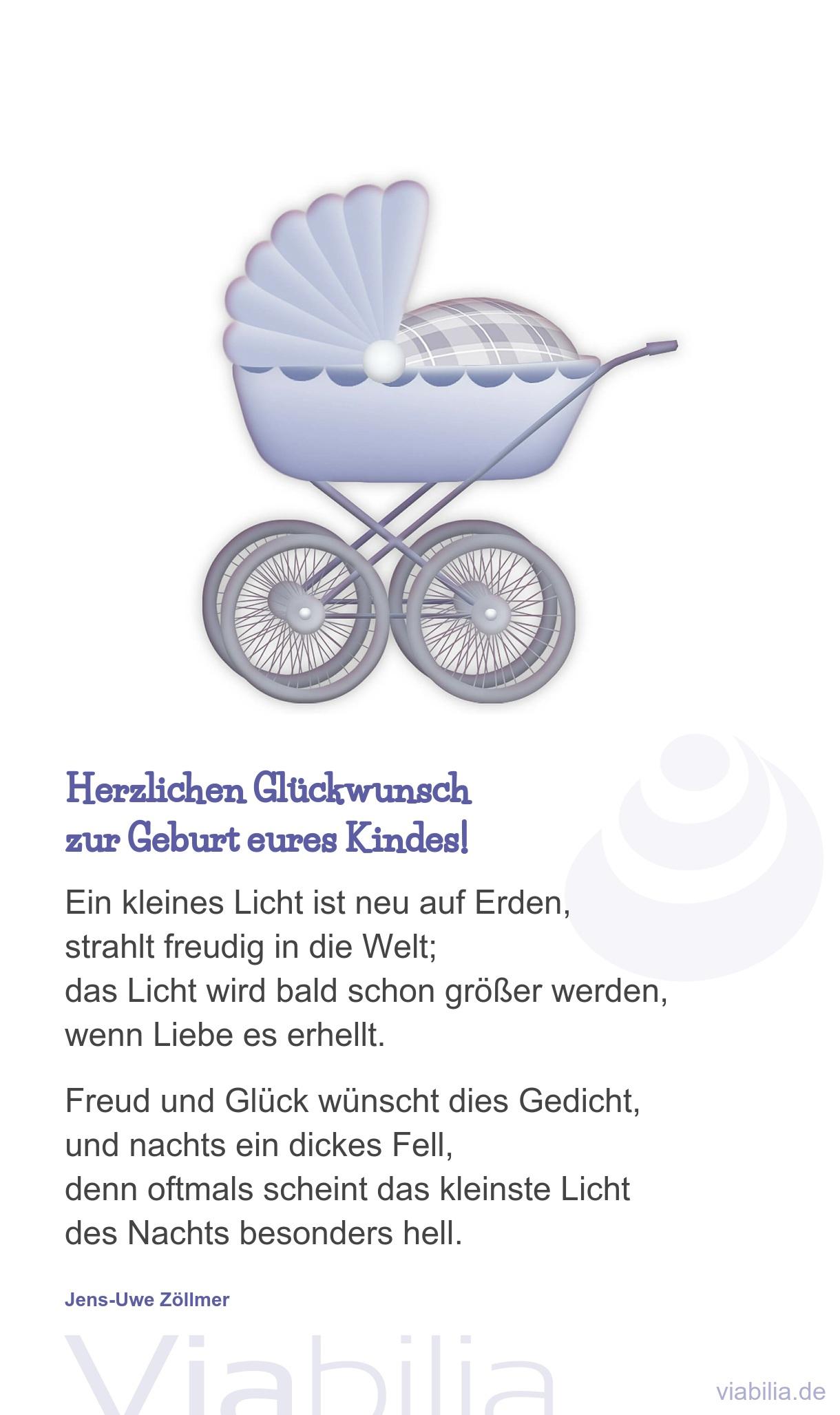 Zur Geburt Eines Kindes