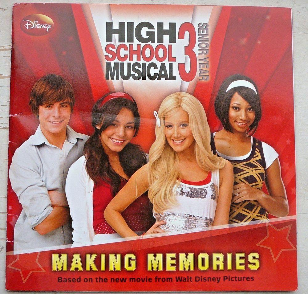 High School Musical 3 Book Making Memories Senior Year Movie innen High School Musical Senior Year Online