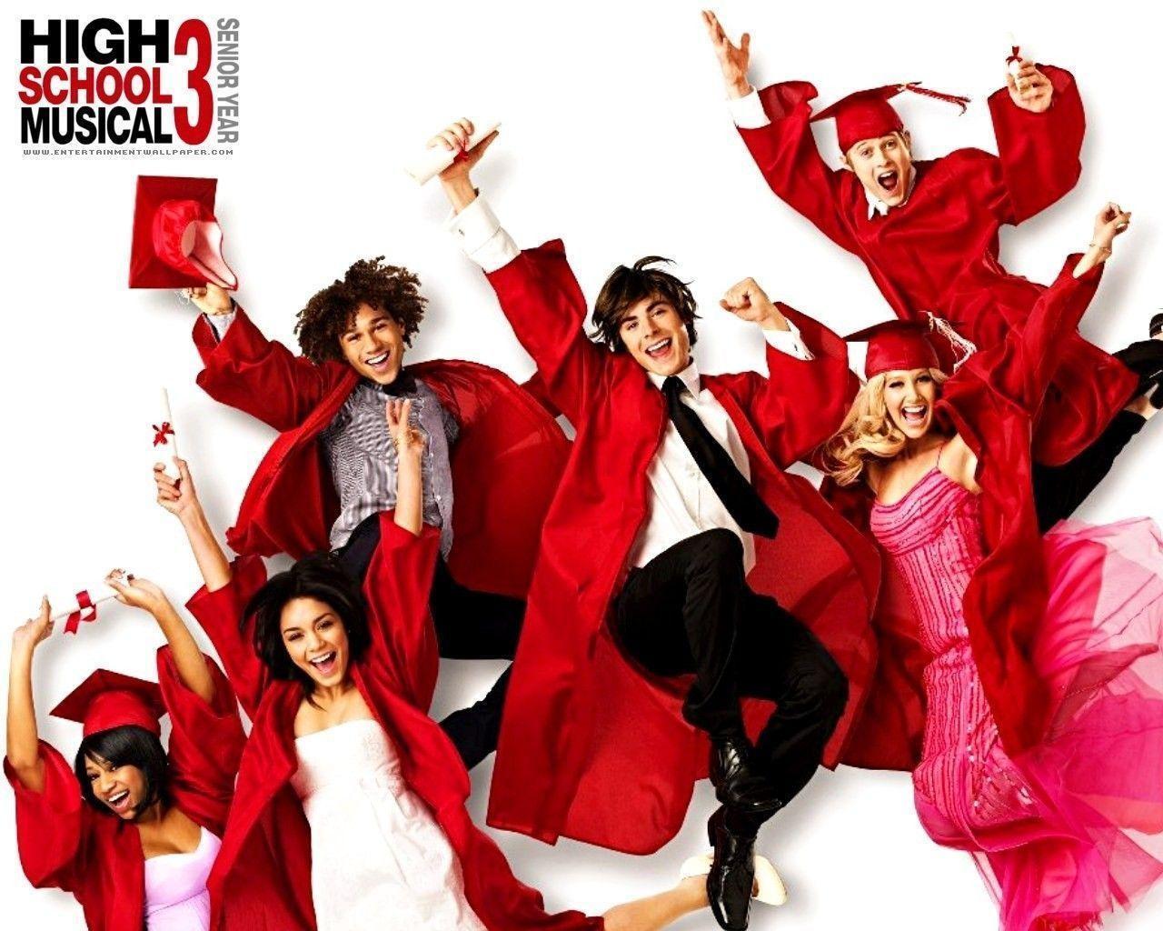 High School Musical Wallpapers - Wallpaper Cave mit High School Musical Senior Year Online