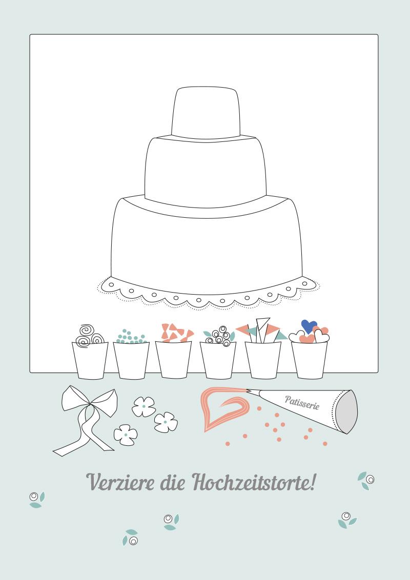 Hochzeitsmalbuch Zum Ausdrucken – Kostenloser Download bestimmt für Hochzeitsbilder Zum Ausdrucken