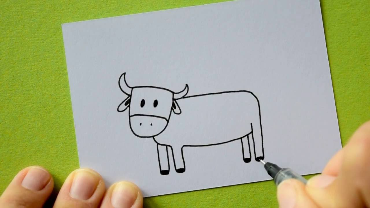 How To Draw A Cow in Kuh Malen