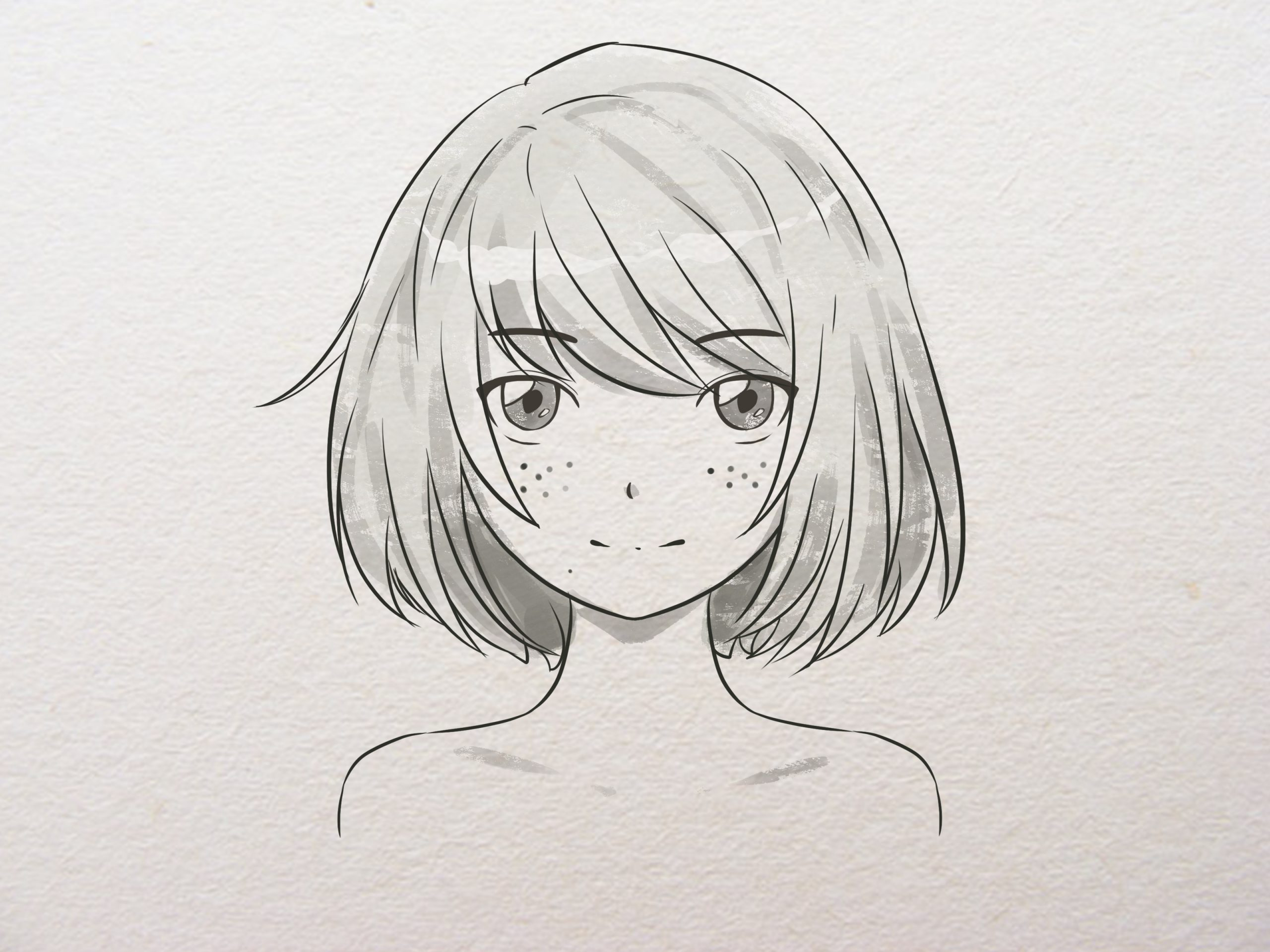 How To Draw Anime Or Manga Faces: 15 Steps (With Pictures) in How To Draw Anime Nose Step By Step