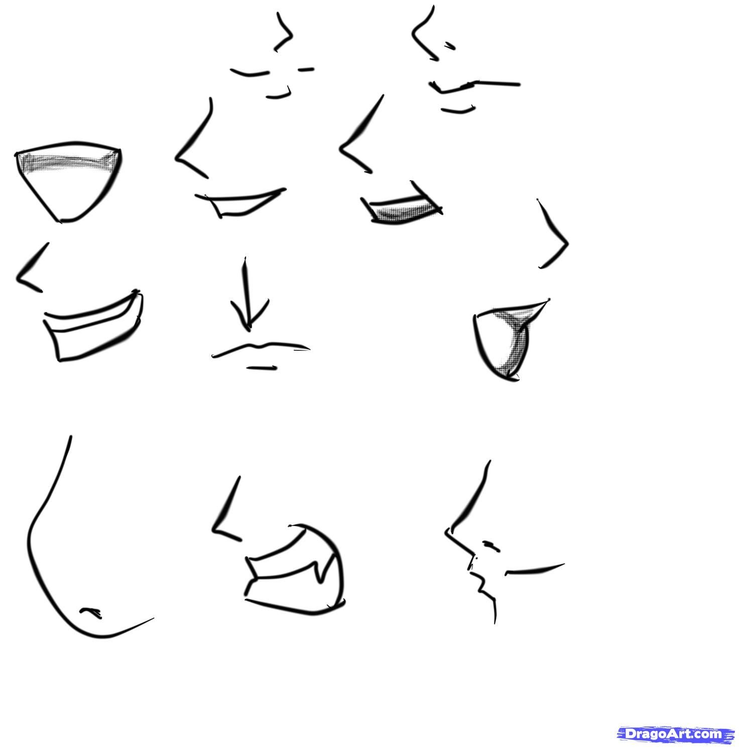 How To Sketch An Anime Boy By Catlucker | Manga Drawing bestimmt für How To Draw Anime Nose Step By Step