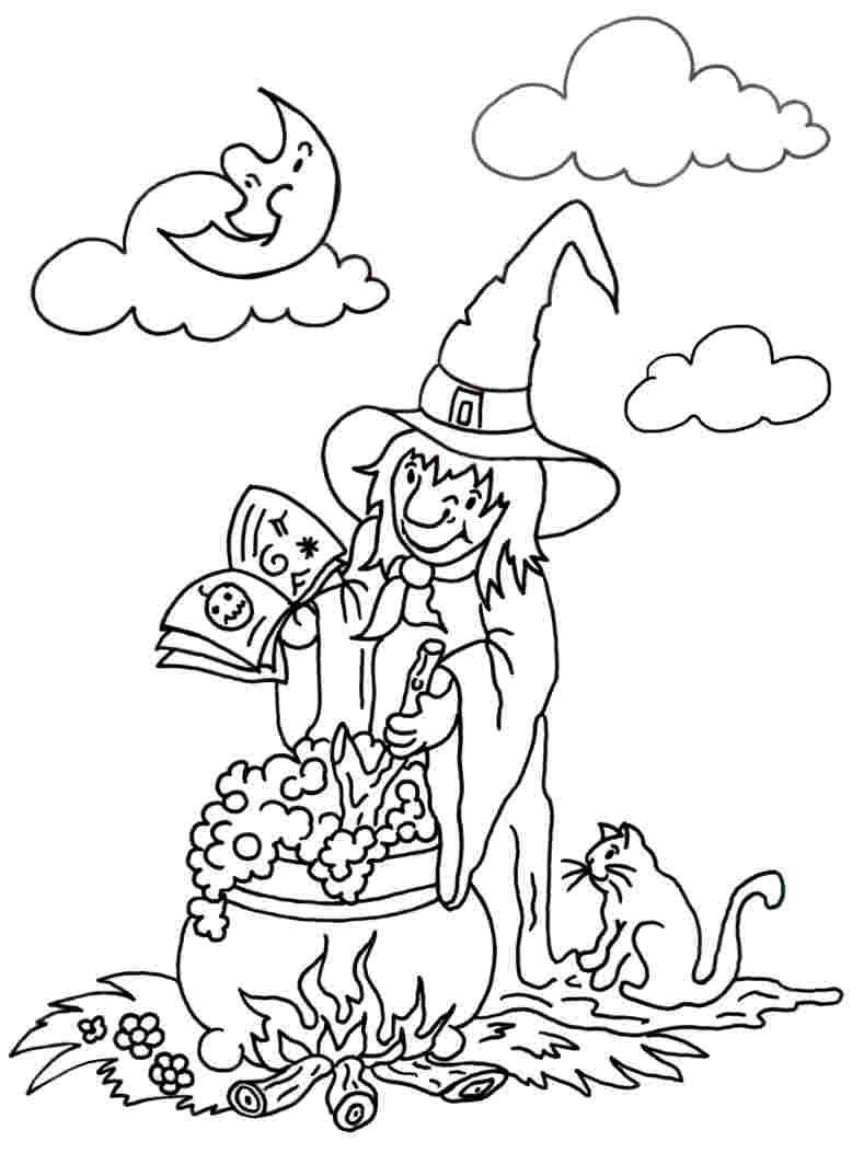 Https Www.gratis-Malvorlagen.de Comics Kleine-Hexe bei Die Kleine Hexe Ausmalbilder