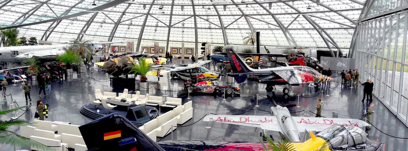 Hubschrauberflug Zum Hangar-7 mit Hubschrauber Rundflug Salzburg