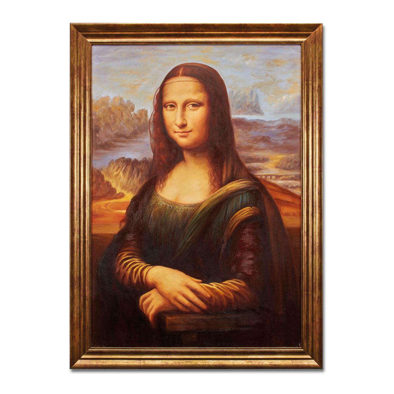 Hui Liu Malt Leonardo Da Vinci – Mona Lisa innen Wann Hat Leonardo Da Vinci Die Mona Lisa Gemalt