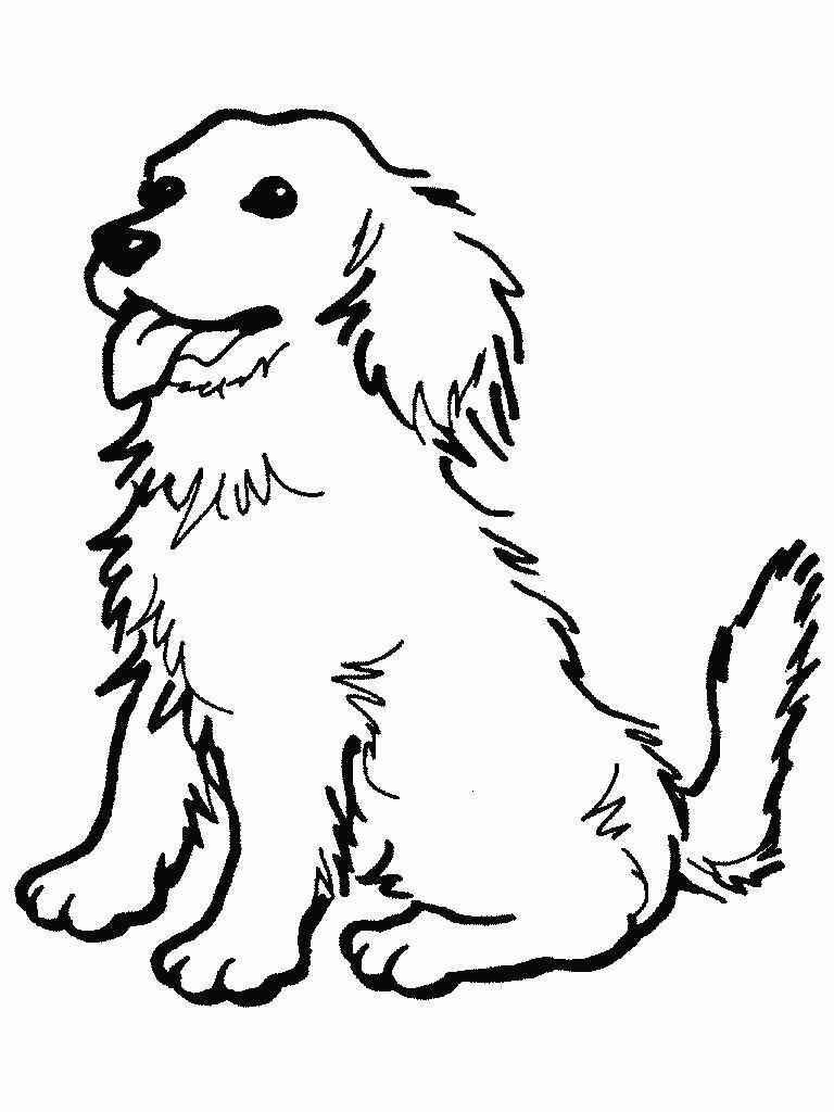 Hunde (22) Malvorlagen   Ausmalbilder Hunde, Malvorlage Hund in Malvorlagen Hunde