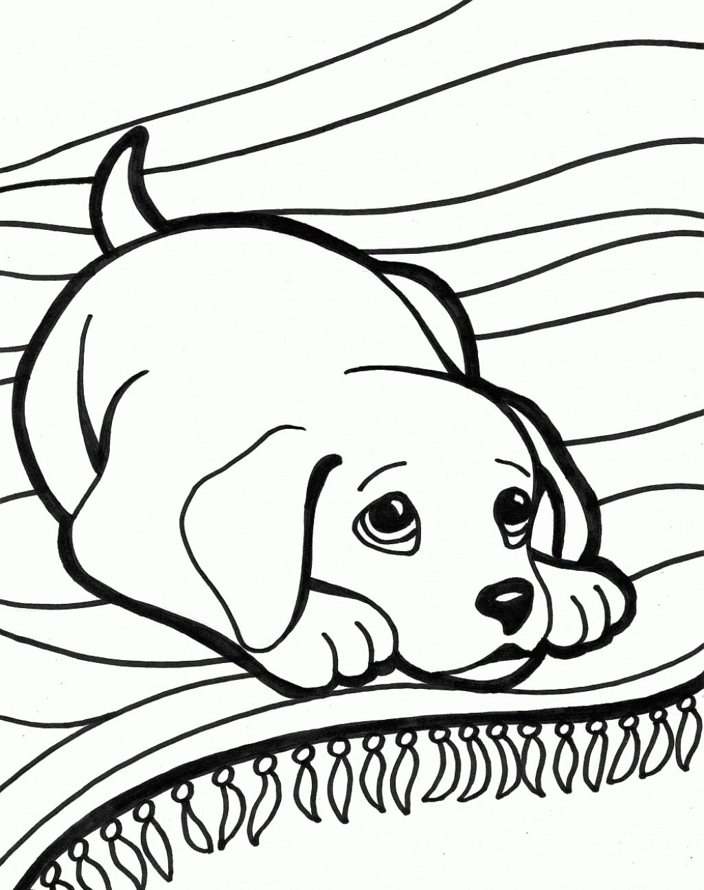 Hunde Malvorlagen Für Kinder. Drucken Sie Online Kostenlos! bestimmt für Malvorlagen Hunde