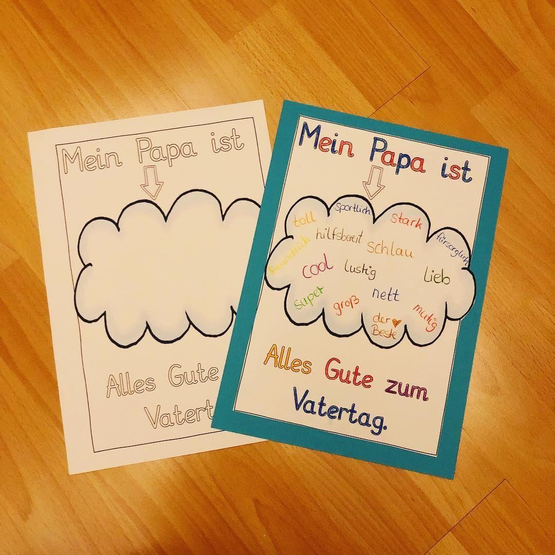 Ich Hatte Es Irgendwie Nicht Ganz Auf Dem Schirm 🙈 Aber für Bastelideen Zum Vatertag Grundschule