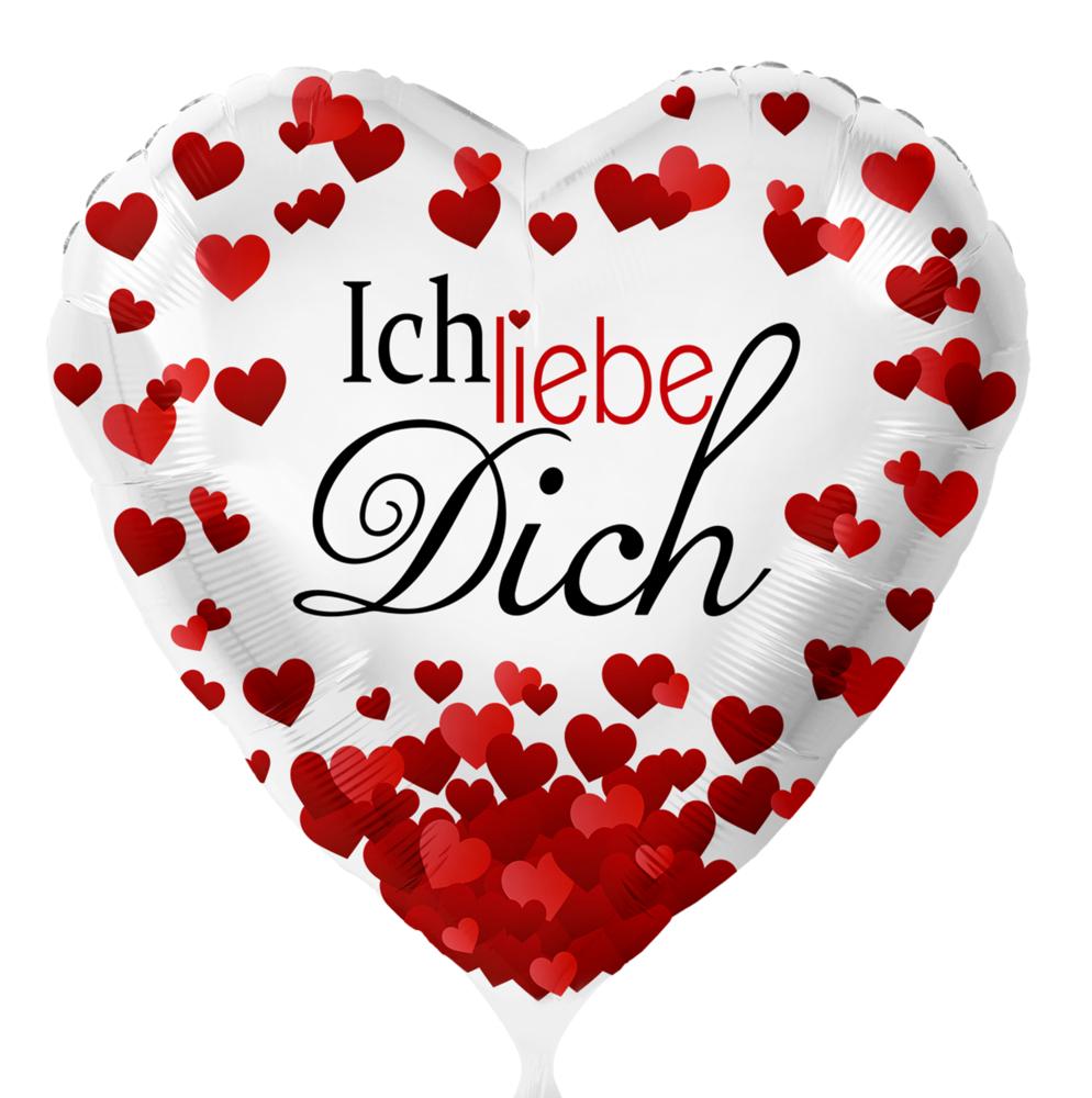 Ich Liebe Dich Herzen - Leerballon verwandt mit Ich Liebe Dich Bilder