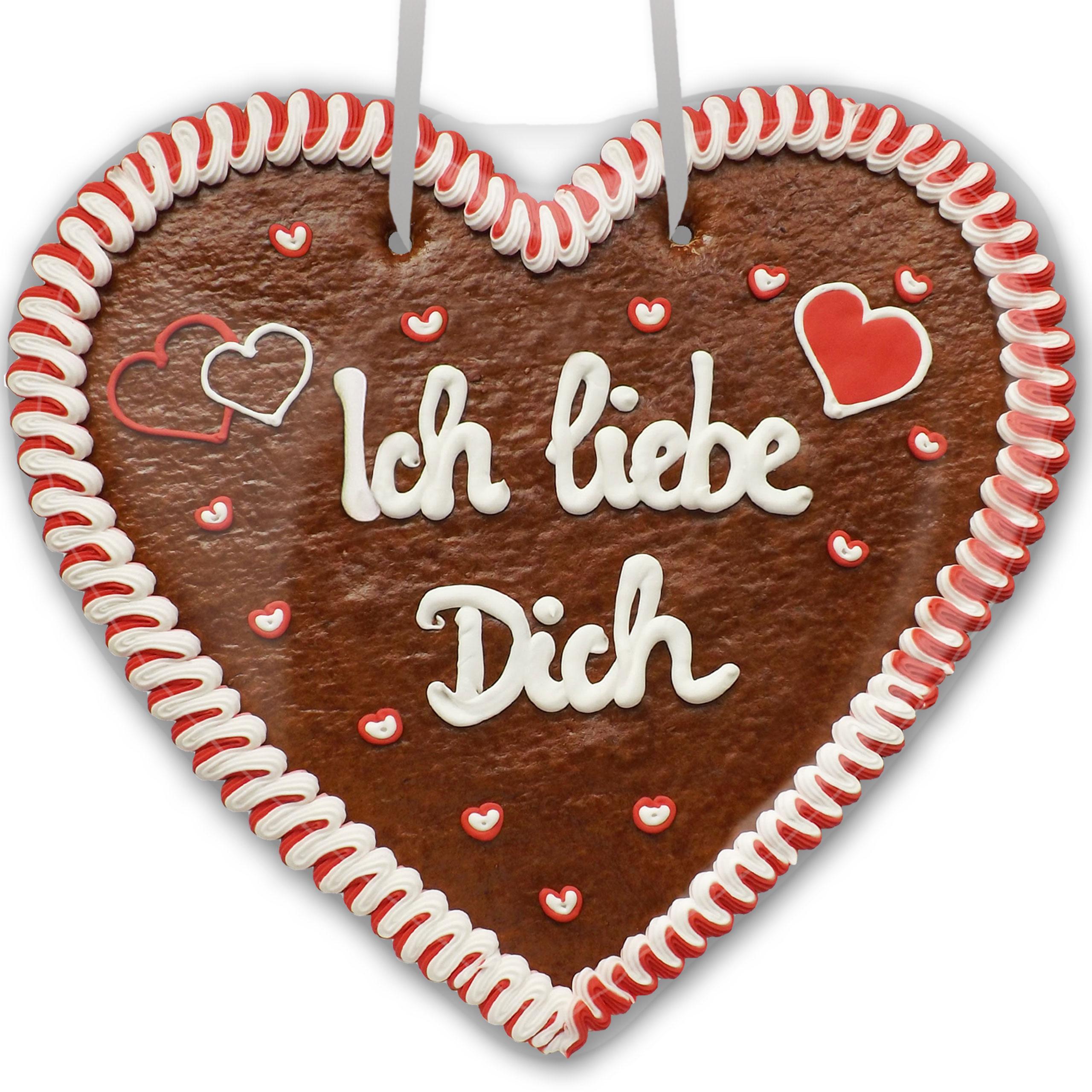 Ich Liebe Dich - Lebkuchenherz Xxl 50Cm über Ich Liebe Dich Bilder