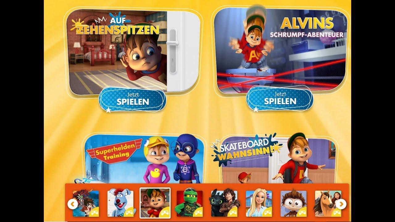 Ich Teste Alvin Und Die Chipmunks Spiele mit Alvin Und Die Chipmunks Spiele