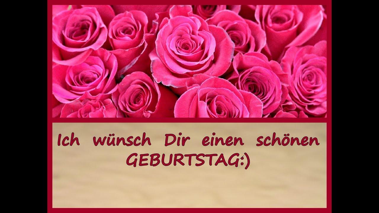 Ich Wünsch Dir Einen Schönen Geburtstag:) mit Schöne Bilder Zum Geburtstag