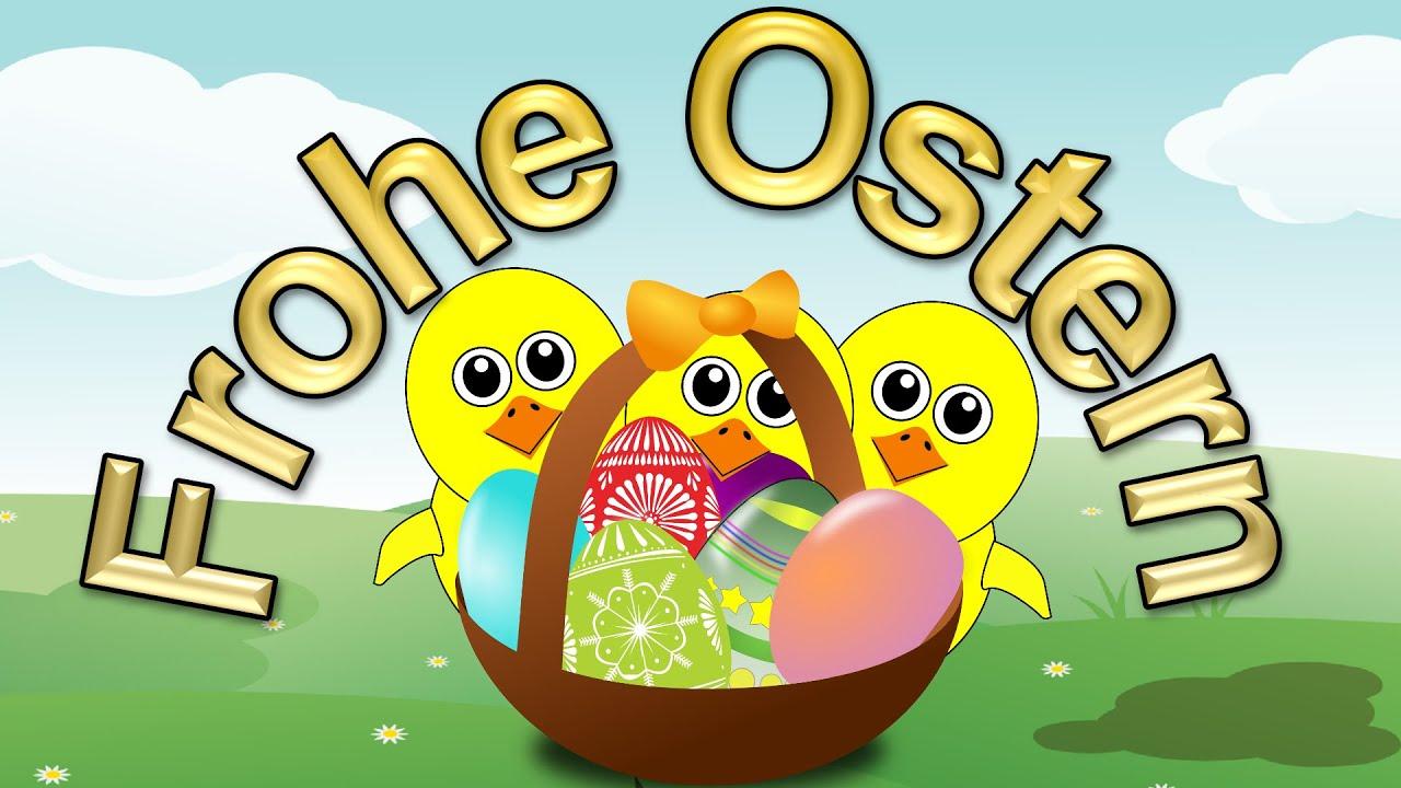 Ich Wünsche Dir Frohe Ostern – Ostergrüße Für Dich – Ostergruß Video Frohe  Ostern Lustig & Niedlich in Ostern Lustig Bilder