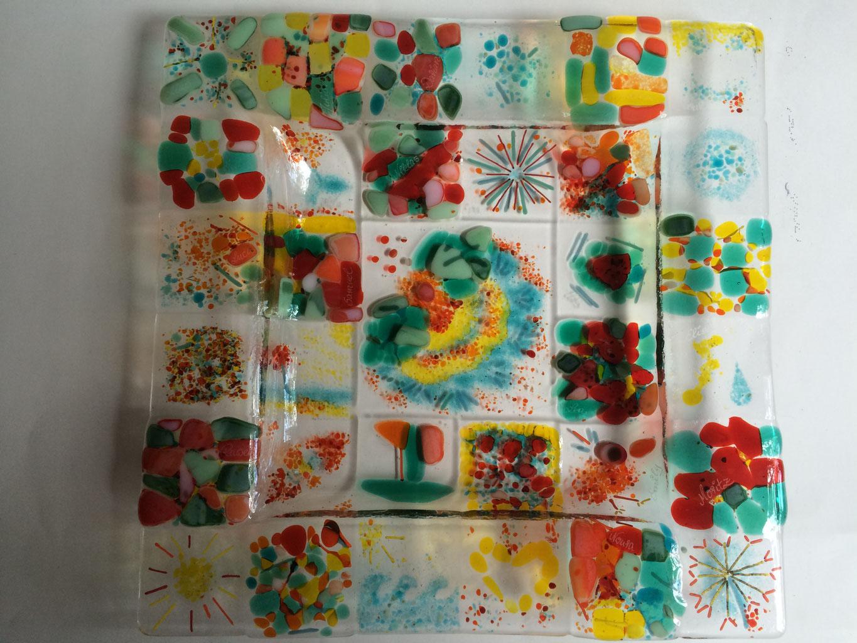 Ideen Für Erinnerungsgeschenke Und Glas- Schalen Als ganzes Abschiedsgeschenk Grundschullehrerin