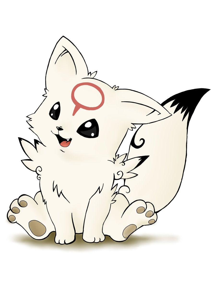Image] Chibi Ookami From The Video Game (Mit Bildern verwandt mit Manga Tiere