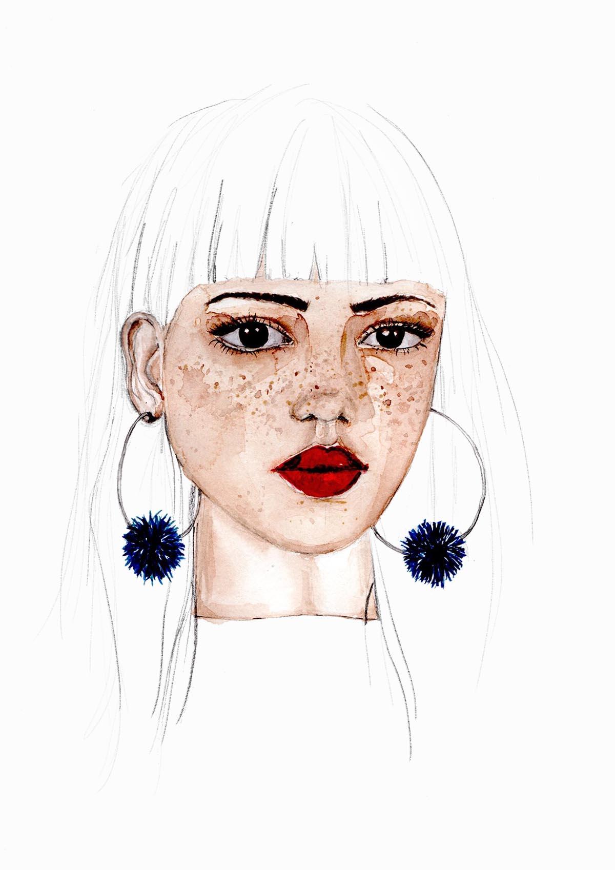 In 5 Schritten Gesichter Zeichnen Lernen | Hermine On Walk in Gesicht Zeichnen Anleitung