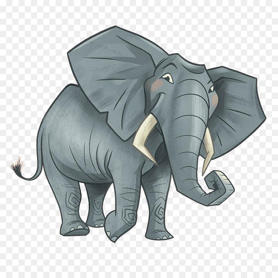 Indische Elefanten, Afrikanische Elefanten, Kilimanjaro verwandt mit Indische Und Afrikanische Elefanten